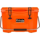 Grizzly Coolers Grizzly G20 Orange/orange 20 Quart Cooler