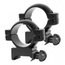 "Simmons Rings 1"" Medium Black"