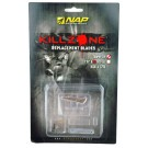 """New Archery Products Replacement Blade Killzone Trophy Tip 100GR 2"""" Cut 6Pk"""