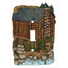Rivers Edge Single Switch Plate Cabin