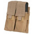 Max-Ops Molle Double Mag Pouch For Ar-15 Mags Coyote Brown