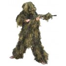 Red Rock 5 Piece Ghillie Suit Woodland Youth Large