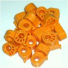 Knight Primer Discs 100 Pack Orange