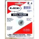 Lee R4 Universal shell holder used in most brands of reloading presses. For the 17 Rem, 204 Ruger, 223, 270 Win and similar cases.