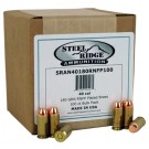 Steel Ridge Remanufactured Ammo 180gr RNFP-Plated 100-Pack 40 S&W