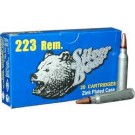 Silver Bear .223 Rem 55gr. Hp Nickel 20pk