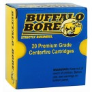 Buffalo Bore Ammo 9MM Luger+P+ 124Gr. FMJ 20-Pack