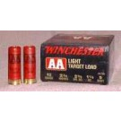 "Winchester Ammunition Ammo Aa Target 12GA. 2.75"" 1145FPS. 1-1/8Oz. #9 25-Pack"