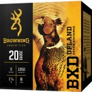 "Browning Ammo BXD Lead 20GA. 3"" 1250FPS. 1-1/4Oz. #6 25Pk"