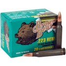 Brown Bear .223 Rem 62GR FMJ 20 Round Box