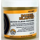 CVA Barrel Blaster Treated Cleaning Patches 100-Pack