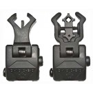 Diamondhead Polymer Sight Set Front And Rear Flip-up Black