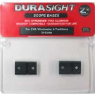 Durasight Z-2 Alloy Scope Bases Fits All CVA / Winchester / Traditions / New Frontier In-Line Muzzleloaders Black