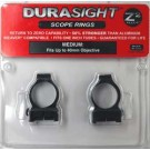 Durasight Z-2 Alloy Scope Rings Medium Black