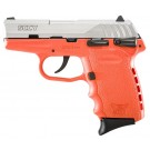 SCCY CPX1-Tt Pistol DAO 9MM 10Rd Ss/Orange Safety