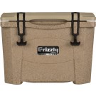 Grizzly Coolers Grizzly G15 Sandstone/tan 15 Quart Cooler