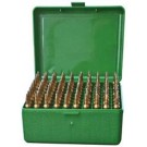MTM Ammo Box Medium Rifle 100-rounds Flip Top 219 Zipper To 7mmTCU