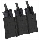 Tac Shield Triple Speed Load Molle Pouch Ar-15 Black