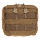 "Tac Shield Combat Gear Molle Pouch 5""x5""x2"" Coyote Brown"