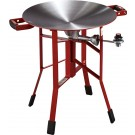 "Firedisc Cookers 24"" Shallow Fireman Red"