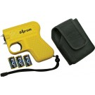 Personal Security Products Zap Gun Yellow 950,000 Vol W/light Takes Cr2a Batteries