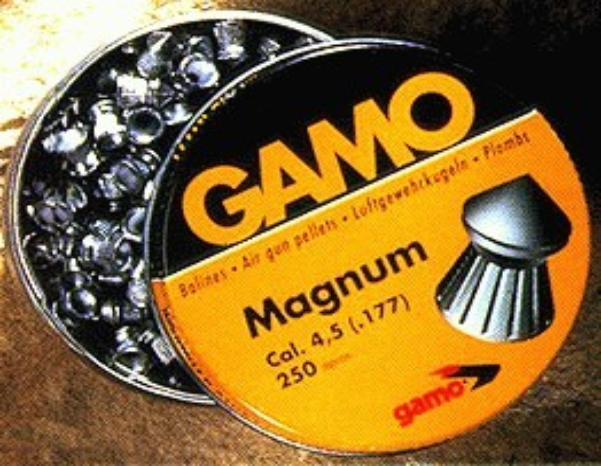 Gamo .177 Magnum Pellets 7.87 Grains 250Pk Tin