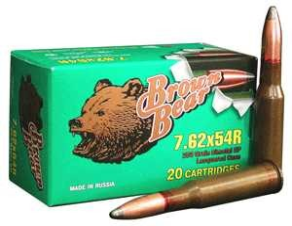 Brown Bear 7.62x54R 203Gr. JSP 20-Pack
