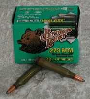 Brown Bear .223 Remington 62GR Soft-Point 20-Pack
