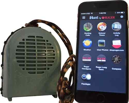 Ihunt Xsb Game Call W/bluetth Speaker W/ihunt App By Ruger