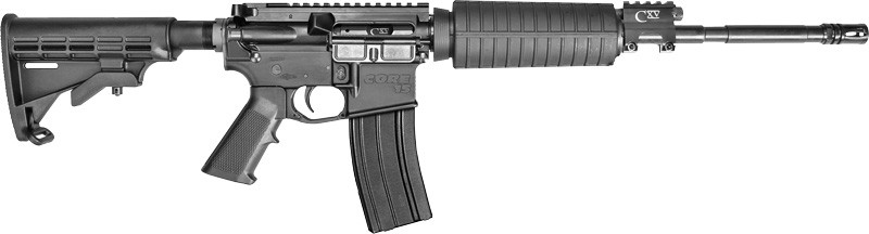 """Core15 Scout 1:7 5.56mm 16"""" 30rd Black Piston Operated"""