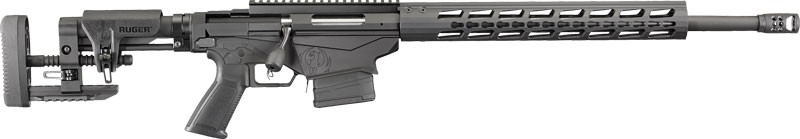 "Ruger Precision 20"" Barrel W/Muzzle Brake Matte Black 308 Win"