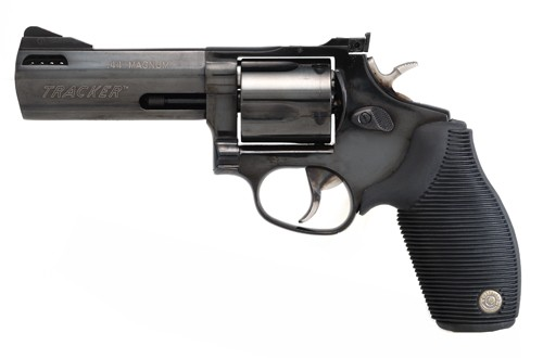 """Taurus Tracker .44Mag 4"""" AS Ported 5-Shot Blued Rubber"""