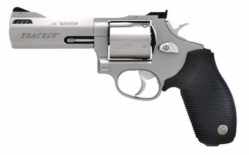 "Taurus Tracker .44Mag 4"" 5-Sh AS Ported Ss Rubber"