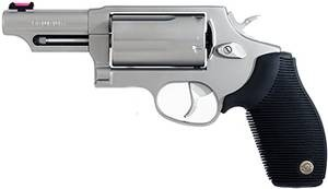 "Taurus Judge .45LC/410-2.5"" 3"" FS 5-Shot Stainless Rubber"