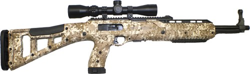 Hi-Point Carbine .45acp Desert Digital Camo W/1.5-5x32