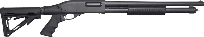 "Remington 870 Express 12ga. 3"" 7-sh 18.5"" Cyl. 6 Position Stock"