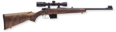 "CZ 527 Carbine 7.62x39 18.5"" Blued Barrel Walnut Stock"
