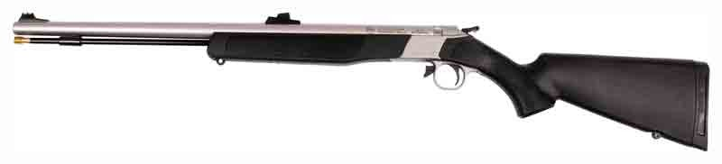 "CVA Wolf Rifle .50 AS 24"" Sst/Black Synthetic"