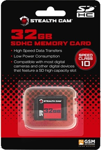 Stealth Cam Sdhc Memory Card 32gb Super Speed Class 10