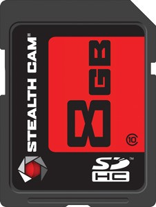 Stealth Cam Sdhc Memory Card 8gb Super Speed Class 10