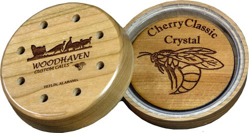 Woodhaven Custom Calls Cherry Classic Crystal Friction Call