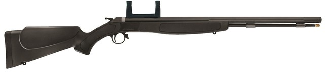 "CVA Wolf Rifle .50 AS 24""Bbl. Blued/Black Syn W/Scope Mount"