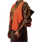 Hunters Specialties Super Quiet Orange Safety Vest-Youth