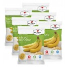 Wise Food Supply Freeze Dried Bananas Case Of 6