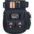 GPS Outdoors Deluxe Shell Pouch W/ Twin Pouches & Web Belt Blk