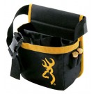 Browning Buck Mark Shell Pouch W/Box Black/Gold Short