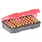 Plano Ammo Box .45ACP/.40S&W/ 10MM 50Rd Filp Top 6Pk Case Lt