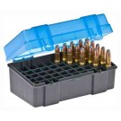 Plano Ammo Box Small Rifle 50-Rnds Flip Top 6Pk Case Lots