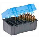 Plano Ammo Box Large Rifle 50-Rnds Flip Top 6Pk Case Lots