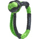"""Bubba Blade Rope Gator Jaw 7/16"""" Synthetic Shackle Black/green"""